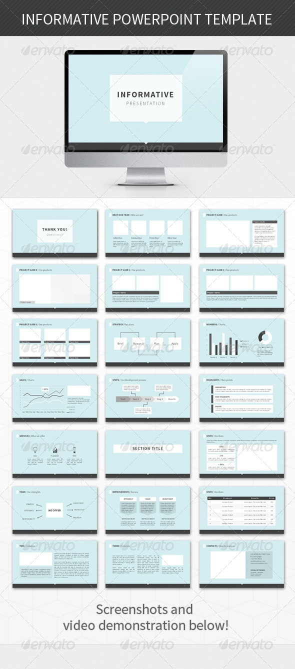 Informative PowerPoint Template