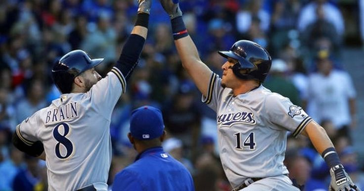 Perez, Anderson help Brewers pound Cubs 15-2