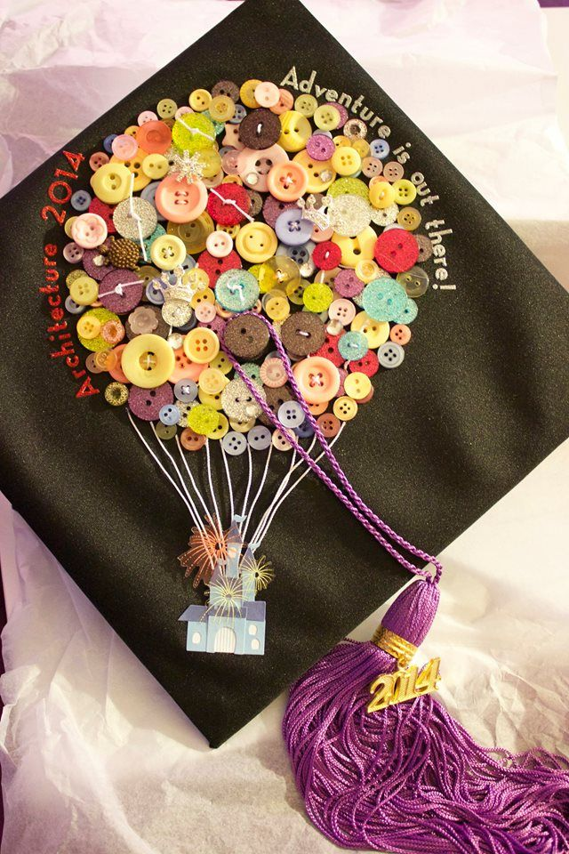 Graduation Cap 'adventure is out there'