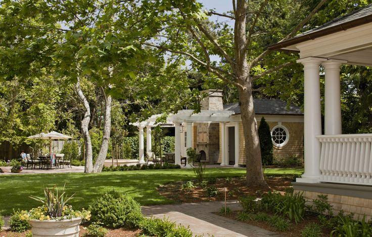 Bay Area Shingle Style Pool house J.O Pool house