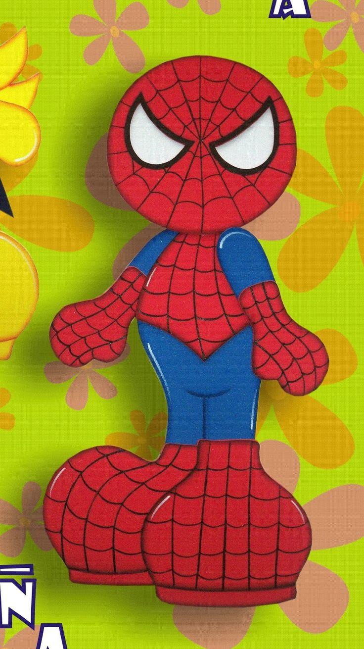 Me lo pidieron muchisimo y aqui se los traigo al Super Heroe Hombre Araña,  ideal para decorar un cumpleaños o para decorar la habitación de...