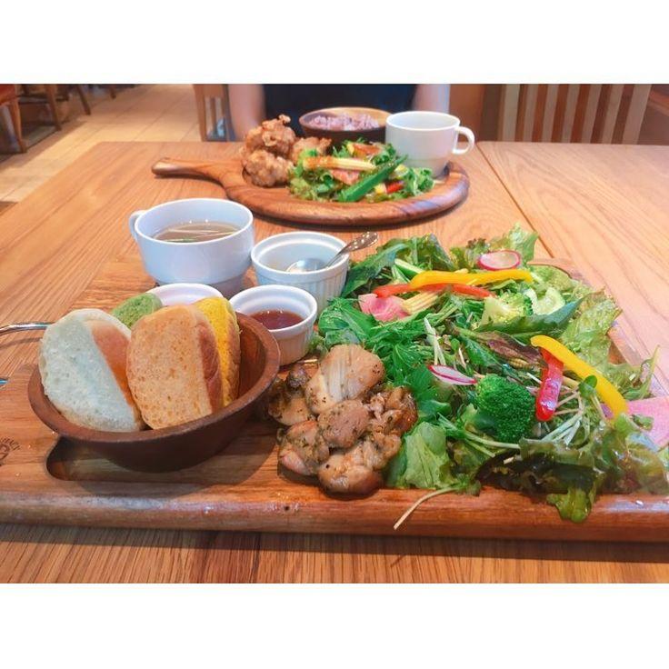 * #野菜 #たっぷり #ワンプレート #おいしい #ヘルシー #野菜好きにはたまらない #大阪ランチ
