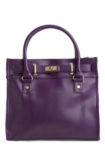 big purple bag. yes I want it.