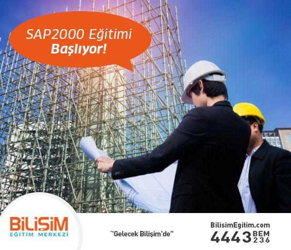 İnşaat sektöründe kariyer yapmak isteyen inşaat mühendisleri, inşaat mühendisliği bölümünde okuyan öğrenciler, yapı statiği bilgisine sahip olan teknik personeller, sizi rakiplerinizden bir adım öne taşıyacak SAP2000 Eğitimi başlıyor. İkinci eğitimi BEDAVA alma şansını kaçırmayın!  Detaylı bilgi ve başvuru için; http://bit.ly/SAP2000Egitimi