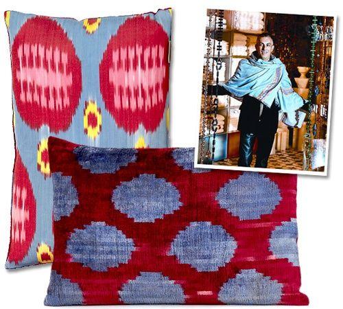 "Rifat Özbek's ""Yastik"" Cushions"