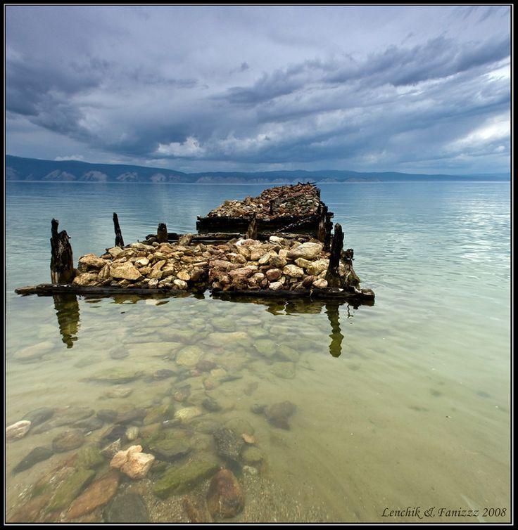 #озеро #байкал #остров #ольхон #бухта #песчаная #пирс Photographer: Лена