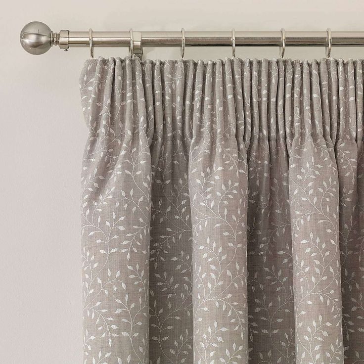 Windsor Natural Lined Pencil Pleat Curtains | Dunelm