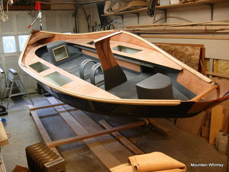 Woody Bugger – 17′ Custom Driftboat | Mountain Whimsy (nice slide show of the whole building process)