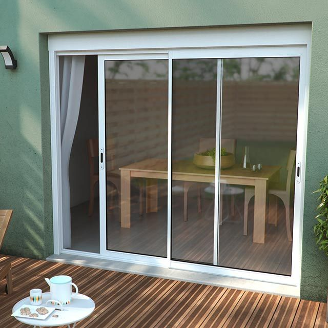 Castorama volet pvc fabulous beautiful ordinaire porte for Fenetres coulissantes castorama