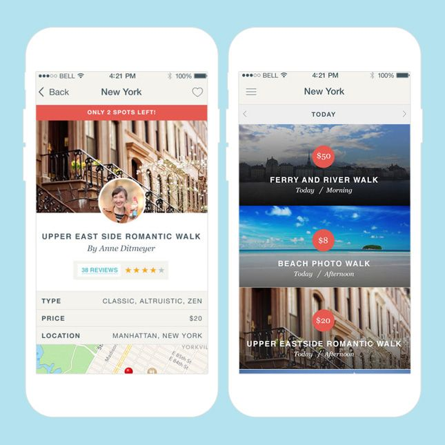 This App Helps You Plan an Adventure of a Lifetime via Brit + Co.