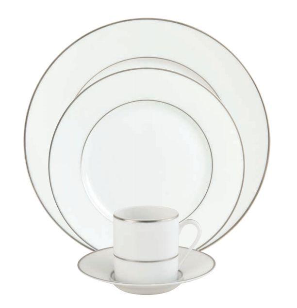 #Raynaud - Limoges #porcelain - Sérénité collection. Gold or platinium filet