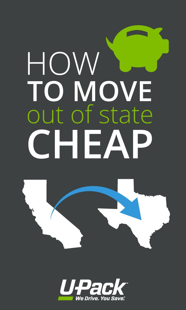U-Pack is great for moving out of state on the cheap! Find out your options here.