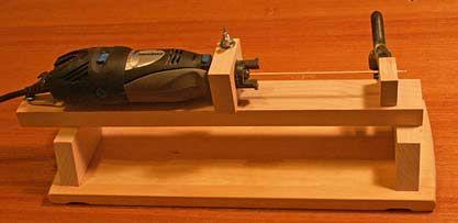 Dremel diy wood lathe instructions for micro wood turnings