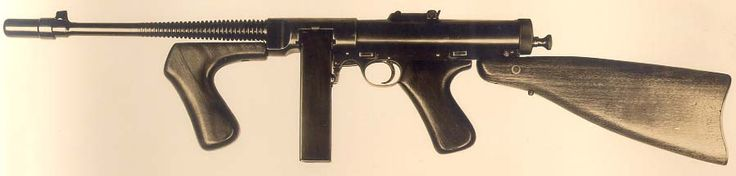 Thompson Submachine Gun Look-a-likes - http://www.warhistoryonline.com/war-articles/thompson-submachine-gun-look-likes.html