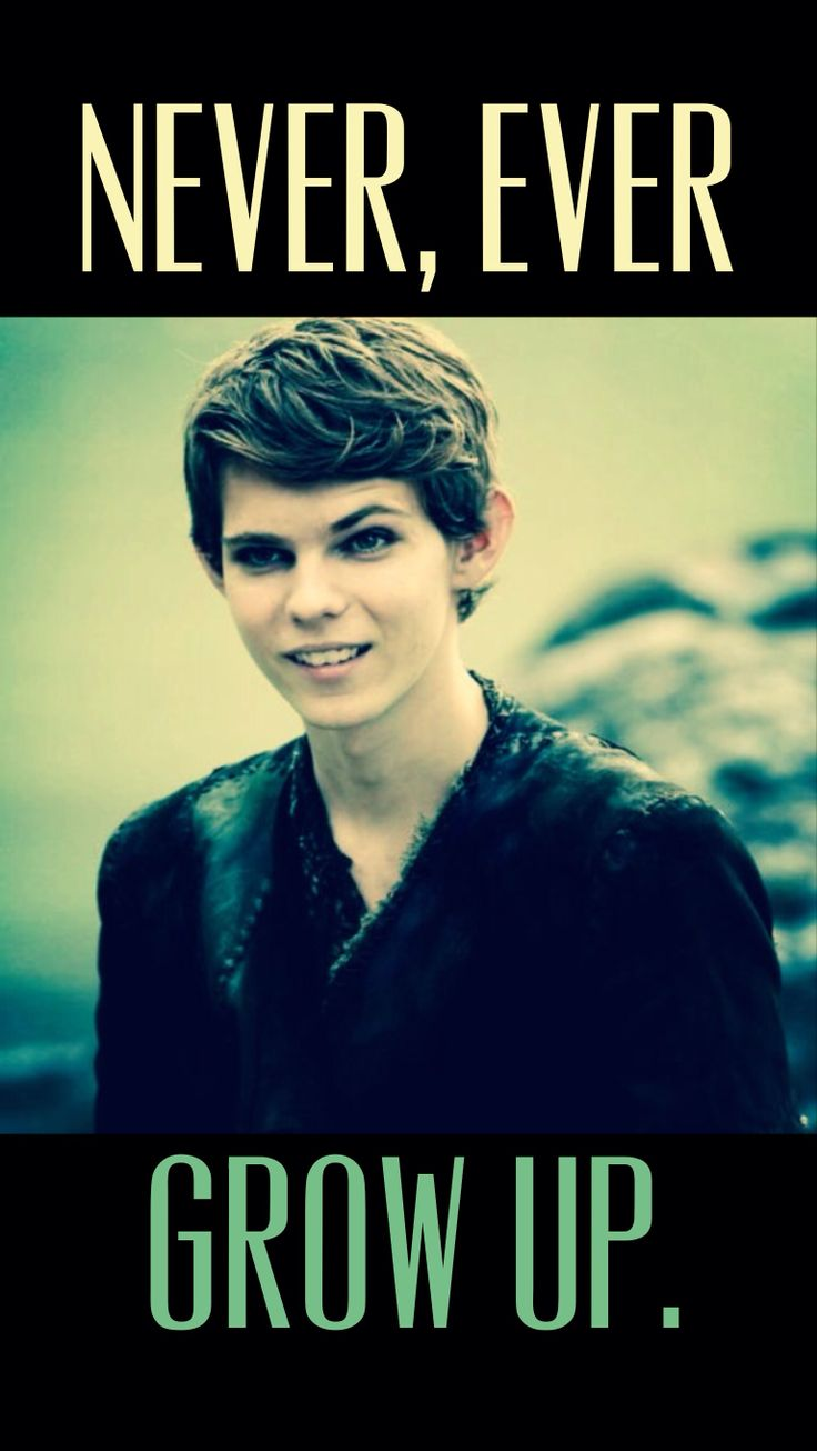 Robbie Kay-Peter Pan. He really does an awesome job of playing an evil Peter Pan.