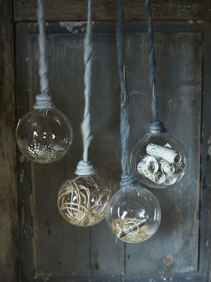 Four Decorative Hanging Globes | Christmas at Cox & Cox