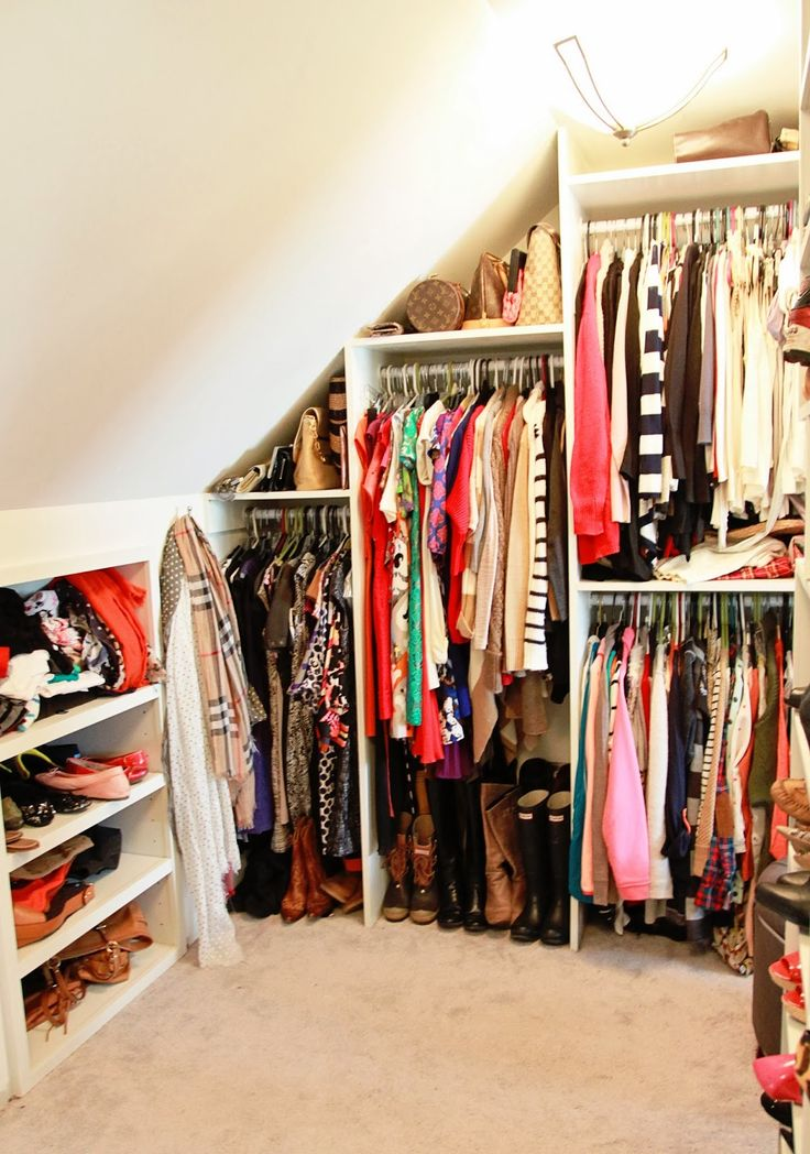 Open Closets Look Rubbish. Curtains Instead Of Doors Is Also An Entirely  Ghastly Idea
