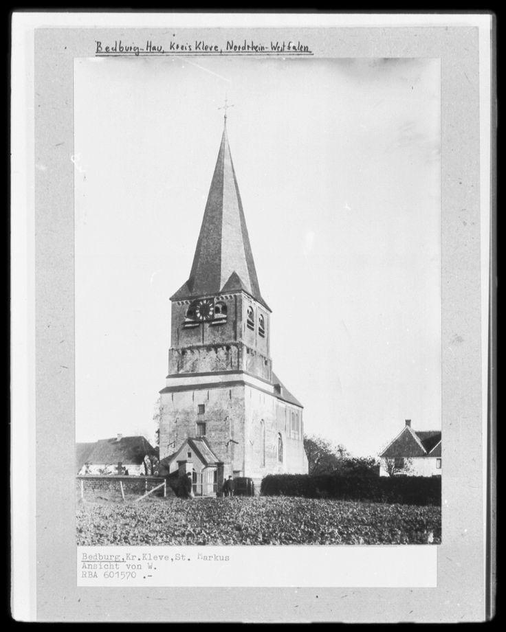 Katholische Pfarrkirche Sankt Markus | Bedburg-Hau | Bildindex der Kunst & Architektur