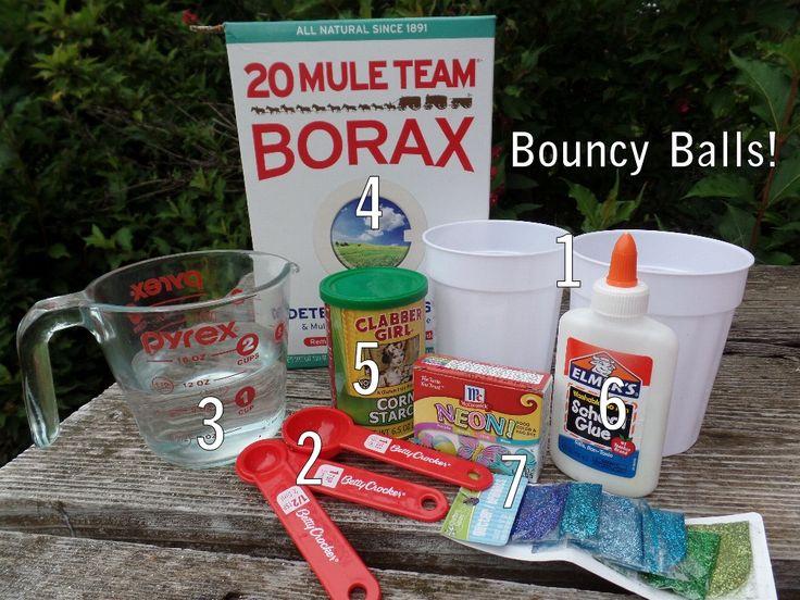 Borax Crafts - Make slime and bouncy balls! @IGGPPC