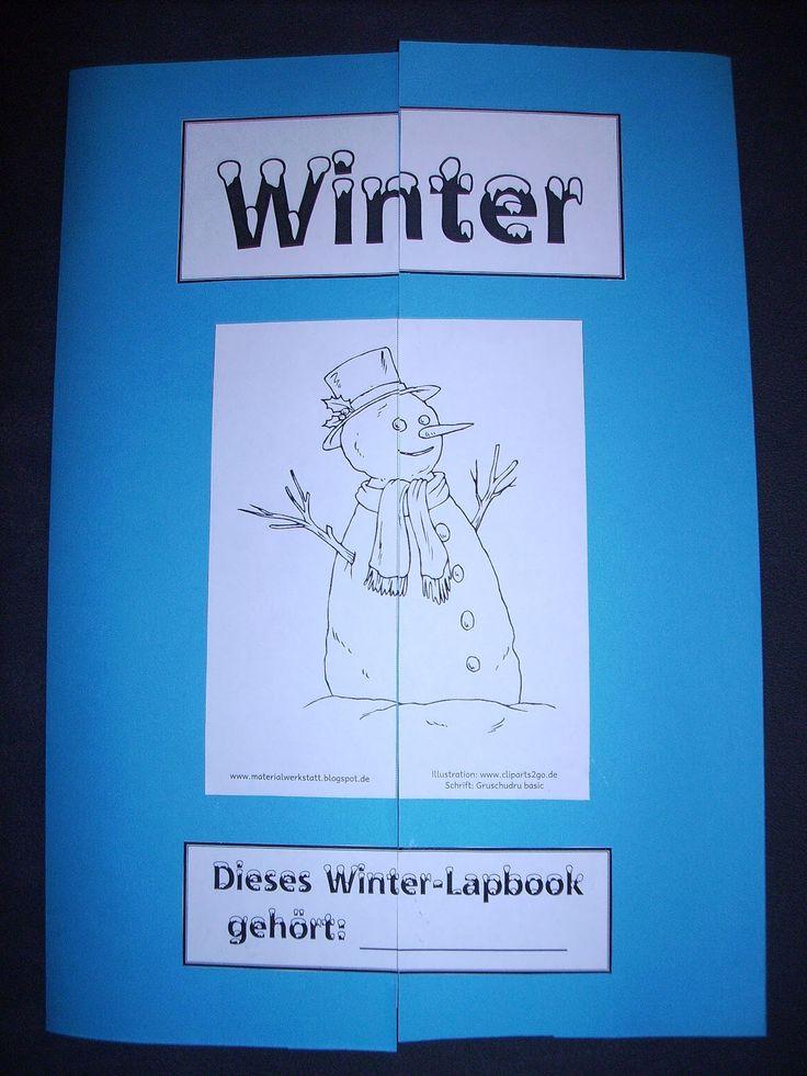 Materialwerkstatt: Lapbook Winter