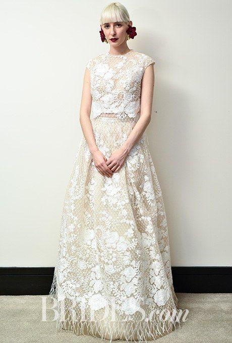 Christos Costarellos Wedding Dresses - Spring 2017 - Bridal Fashion Week | Brides