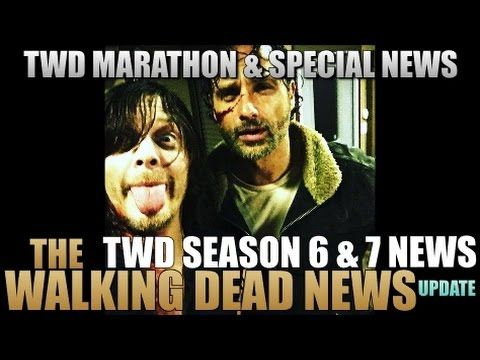 The Walking Dead Season 7 News TWD Season 6 Marathon News And Stranger Things Review - Video --> http://www.comics2film.com/the-walking-dead-season-7-news-twd-season-6-marathon-news-and-stranger-things-review/  #TheWalkingDead