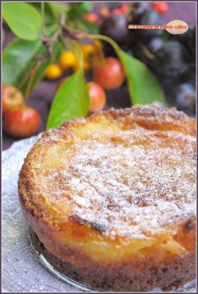 gâteau Tupperware : gâteau aux pommes mamie caillou