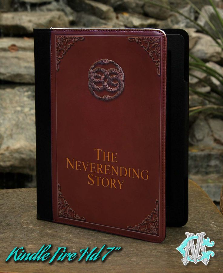 "2012 Edition Kindle Fire HD 7"" Book Cover Case - The Neverending Story Book Cover by CustomizeMeAz on Etsy https://www.etsy.com/listing/212935811/2012-edition-kindle-fire-hd-7-book-cover"
