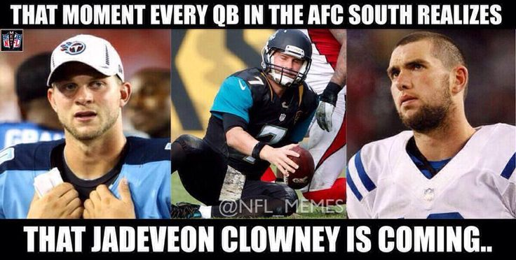 The AFC South's reaction to the Texans selecting Jadeveon Clowney!