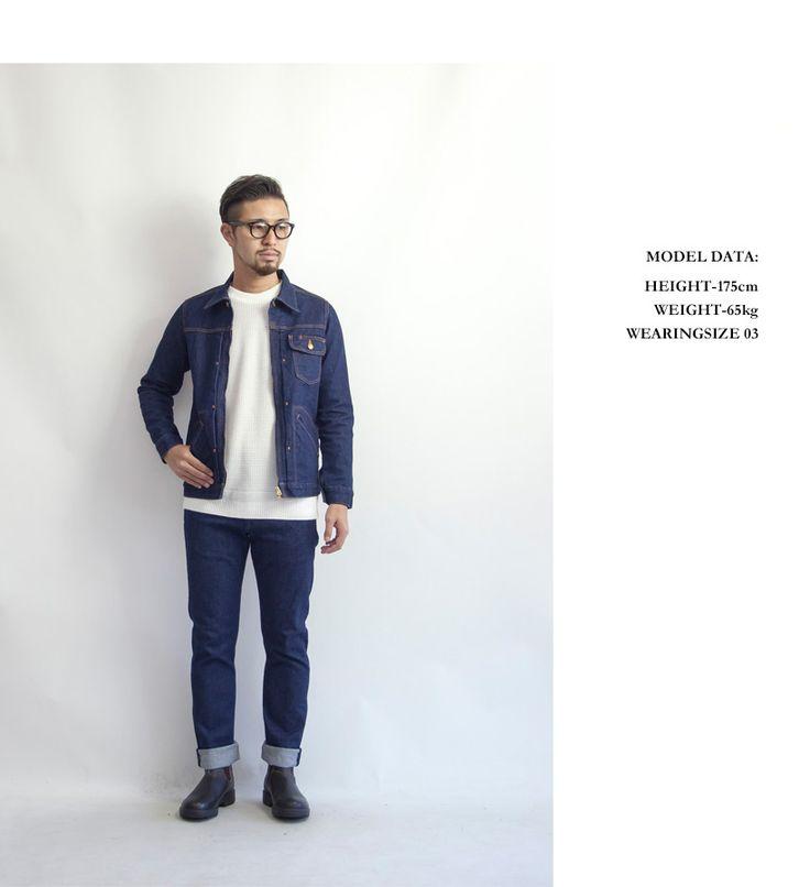 KAFIKA カフィカ ストレッチ デニムジャケット Gジャン セットアップ 日本製 メンズ