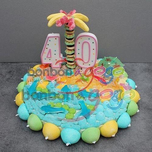 Gateau D'anniversaire Homme 40 Ans New Acheter Gâteau ...