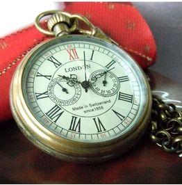 Vintage Mechanical Pocket Watch Ver.1