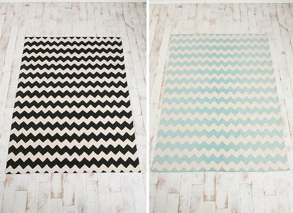 Find Our Source For A Version Of This Stylish Zig Zag Rug