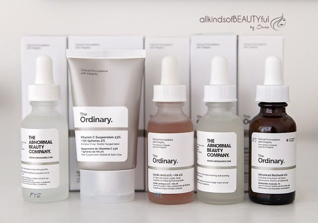 The Ordinary, Deciem, The Abnormal Beauty Company