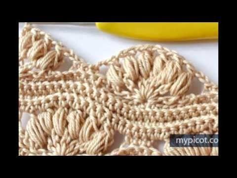 Hermoso Croche Punto cadena Doble 2016