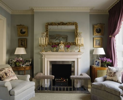 Living Room by Jane Churchill
