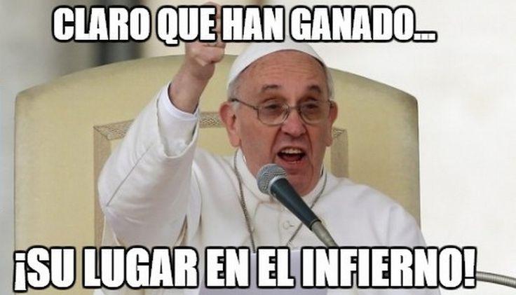 Papa Francisco en memes del triunfo del Real Madrid en Mundial de Clubes