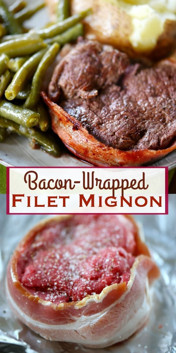 The classic Bacon-Wrapped Filet Mignon is easier to make than you might think! A truly delicious and EASY dinner that anyone can prepare! Great for special occasions and holidays! Whole30 Compliant