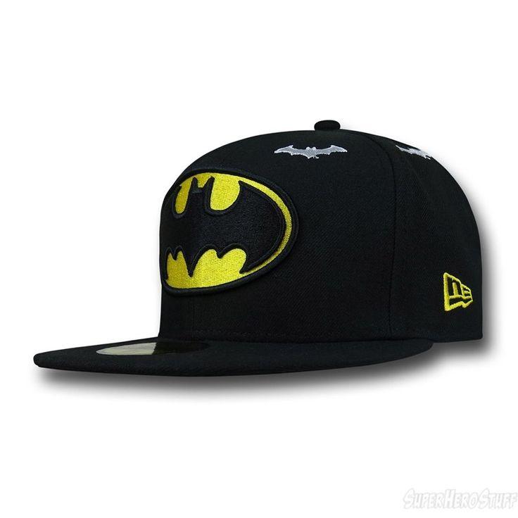 Batman Symbol Stargazer 59Fifty Hat dc comics hats new era