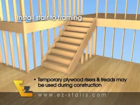 Build Quality Finished Interior Stairs Basement Stairs Quickly