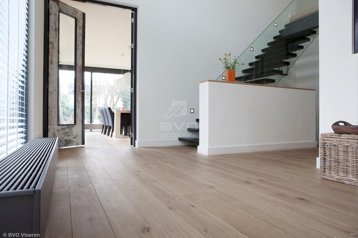 Frans eiken parket   houten vloer met naturel uitstraling   behandeld met ultramatte en