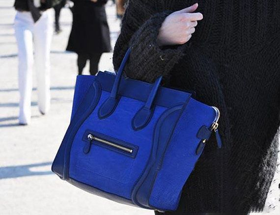 buy original celine bags online - Blue Boston Winter Smiling Face Tote / France Bats Phantom Handbag ...