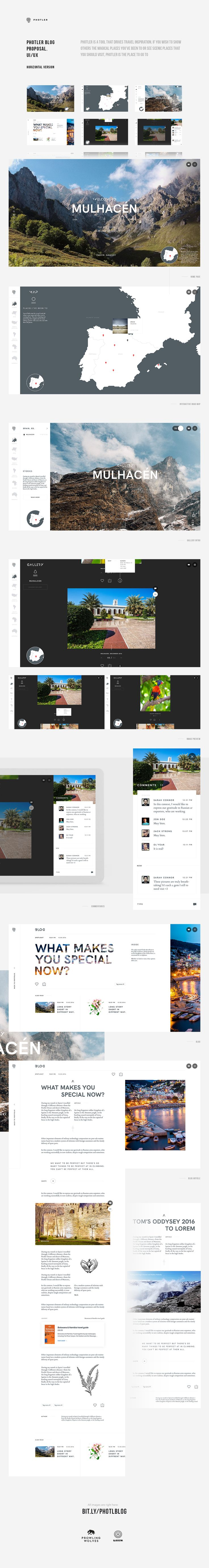 """Check out this @Behance project: """"Blog proposal for Photler"""" https://www.behance.net/gallery/48599373/Blog-proposal-for-Photler"""