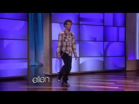 "dancer - Marquese Scott on the Ellen Show | song - ""Pumped Up Kicks"" (2010) by Foster the People, remix by Butch Clancy"