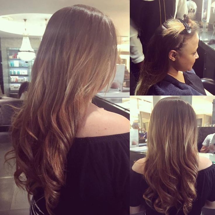 Lovely long weave by Sandra, with styling by Carmel at Midori!