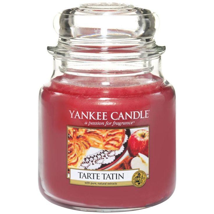 Yankee candle tarte tatin voto 6,5. Buono, sicuramente spicca la cannella profumo dolce e avvolgente per le sere autunnali.  Note di testa:Tarte Tatin, cannella, Mela Note di cuore:chiodi di garofano, noce moscata Note di fondo : Vaniglia