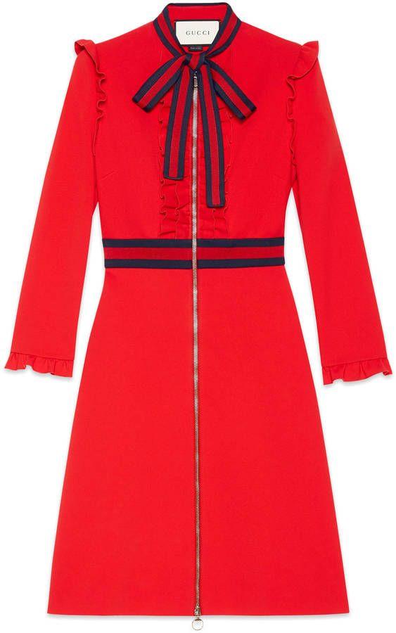 Cookie Lyon (Taraji P. Henson) wears a Gucci Viscose Jersey Dress on #Empire S3