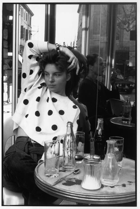 Henri Cartier-Bresson - France. Paris. Mélanie.
