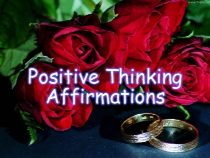 "https://www.youtube.com/watch?v=MC_0gmGTHzk  Affirmations help purify our thoughts and restructure the dynamic of our brains so that we truly begin to think nothing is impossible. The word affirmation comes from the Latin affirmare, originally meaning - ""to make steady, strengthen."""