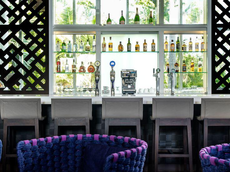 Le Méridien Nouméa - Latitude 22 Bar - Hospitality - Hotel design by CHADA.